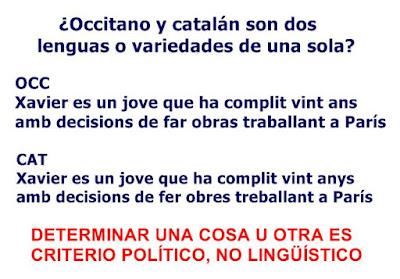 la Proençal, i Catalana son una mesma lengua.