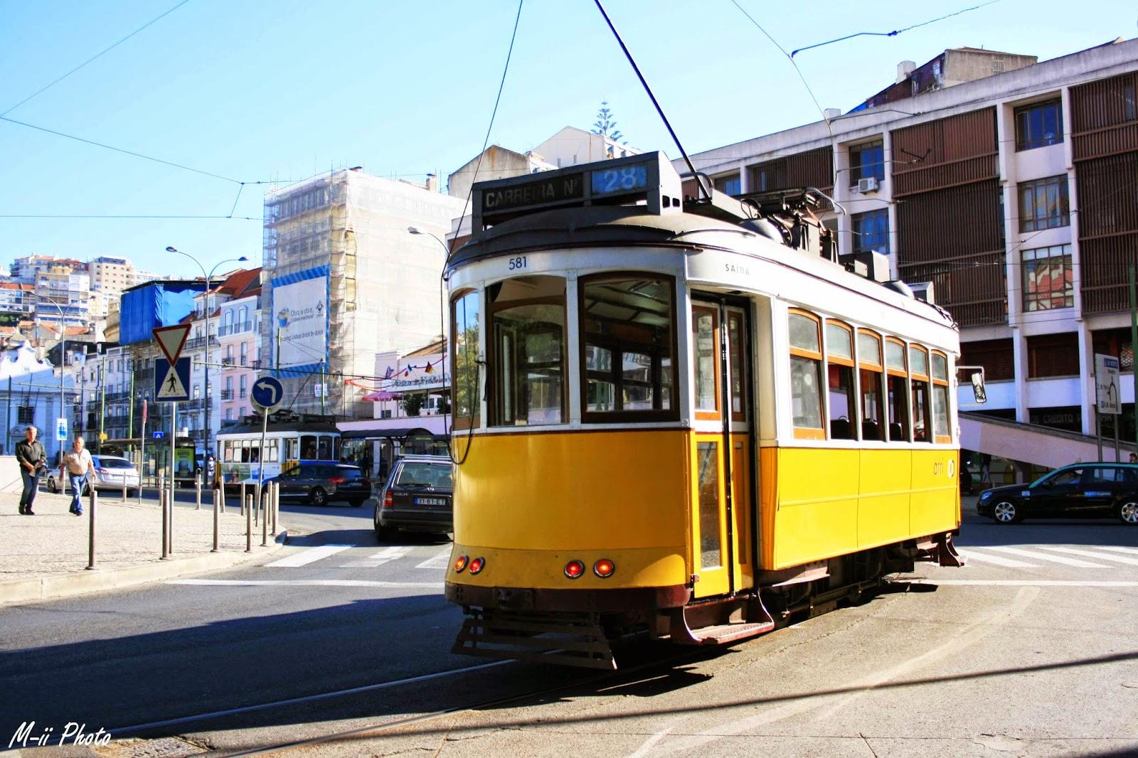 M-ii Photo : 10 choses à faire à Lisbonne  Tram 28