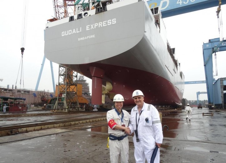 COSCO launches the 7th livestock carrier for Vroon