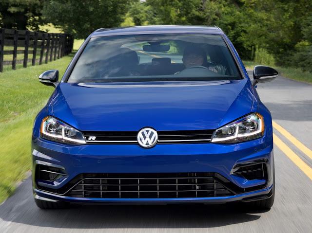 VW Golf R 2018