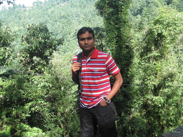 pradeep in dharmshala