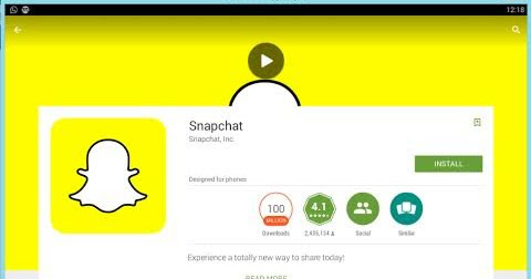 Snapchat PC Download or Computer Laptop Download Guide | Snapchat For PC Download