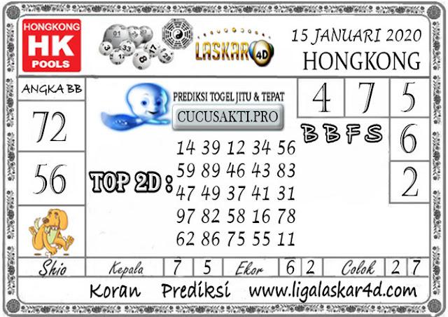 Prediksi Togel HONGKONG LASKAR4d 15 JANUARI 2020