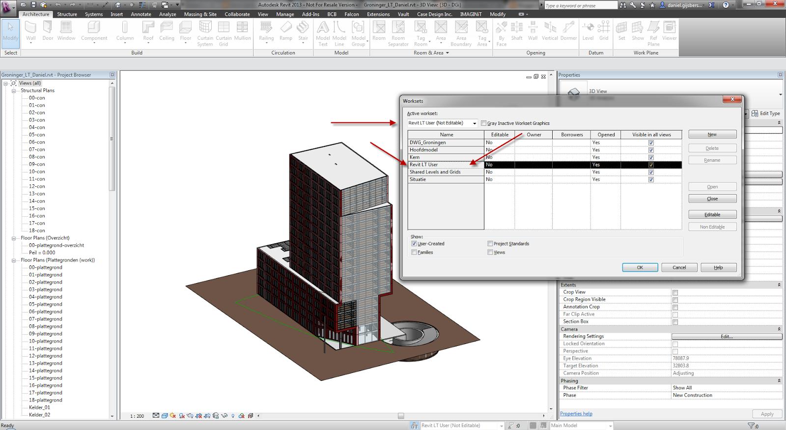 What Does Floor Plan Mean Dani 235 L And Autodesk Aec Software Revit Files And Revit Lt