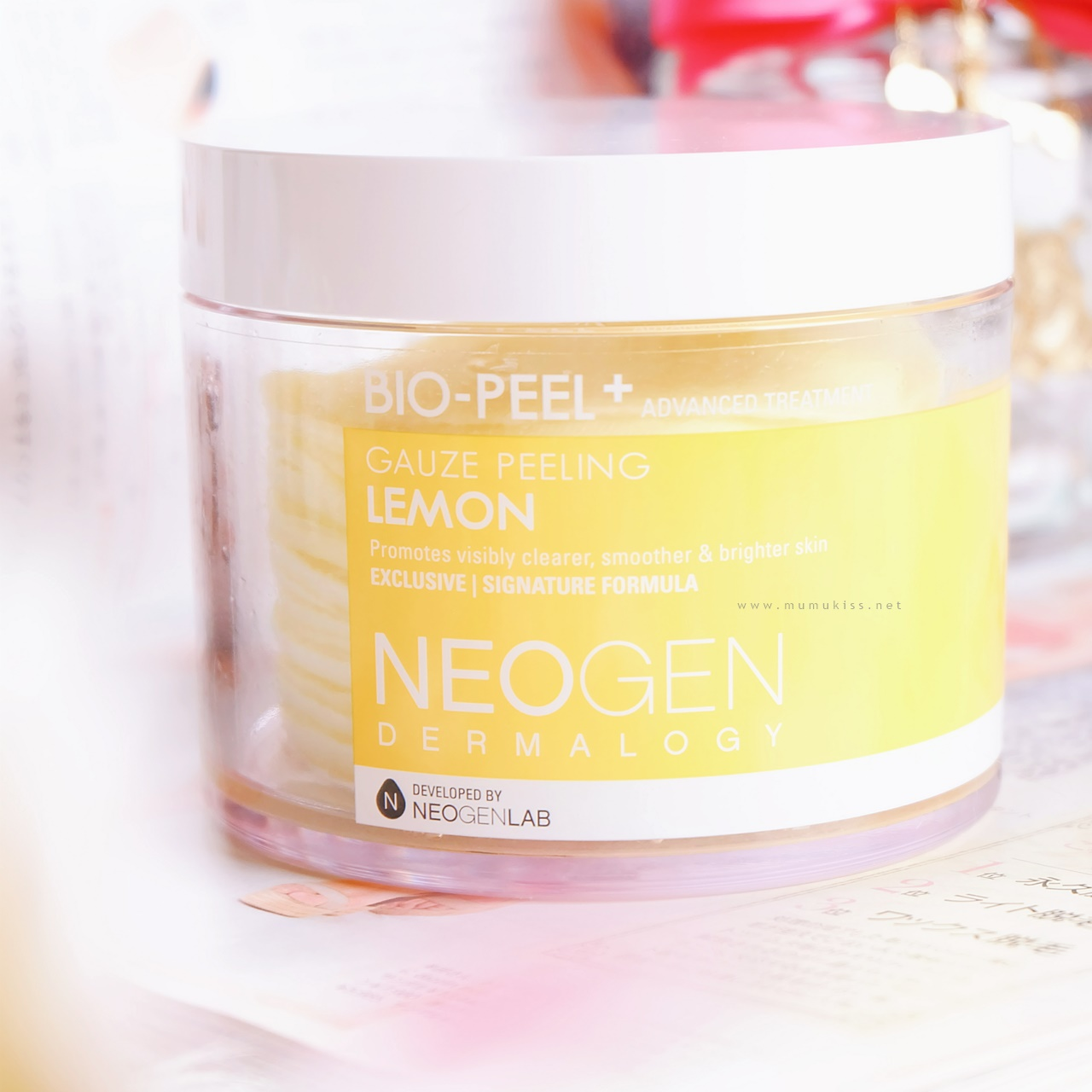 Review: Neogen Bio-Peel Gauze Peeling Lemon [SPONSORED