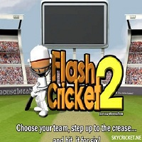 Play Flash Cricket 2 Game