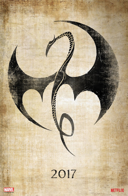 San Diego Comic-Con 2016 Exclusive Iron Fist Teaser Television Poster