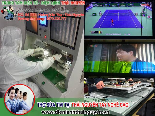 Thợ sửa tivi tại Thái Nguyên tay nghề cao