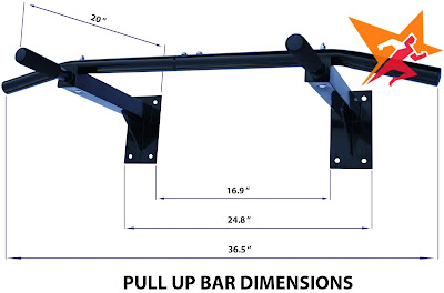 Xà đơn đa năng Wall Pull Up Bar P90X tại Kim Thành