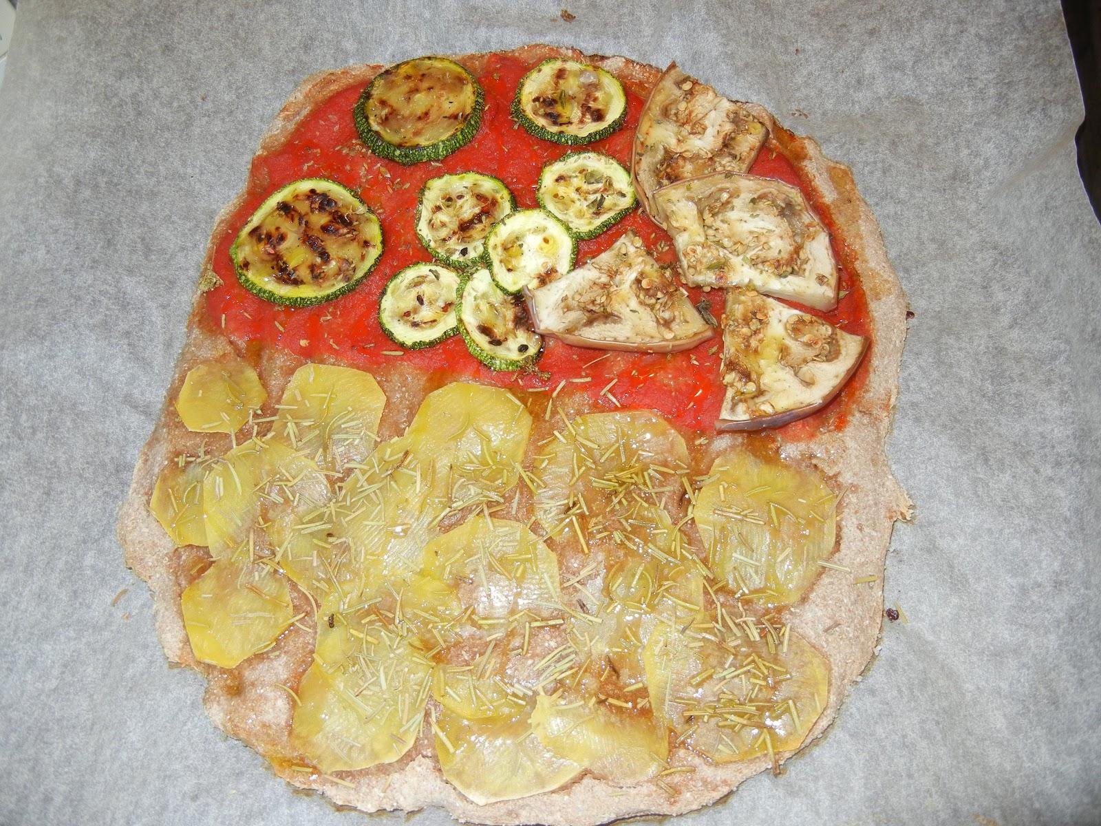 le ricette di valentinaricette KOUSMINE PIZZA INTEGRALE