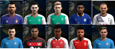 PES 2013 Facepack International v2 By Bruno7 Facemaker