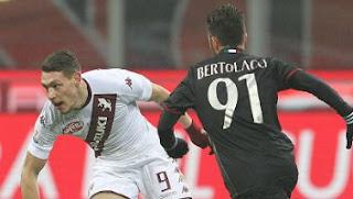Video Gol  AC Milan vs Torino 2-1 Coppa Italia