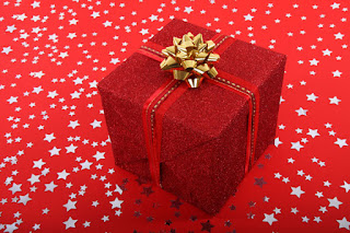 Red and gold gift