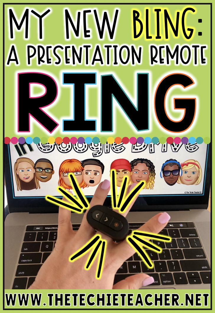 Never lose your presentation remote again while presenting with this presentation remote ring! It is compatible will all kinds of devices and programs such as Google Slides, PowerPoint and Prezi. Come learn all about it!