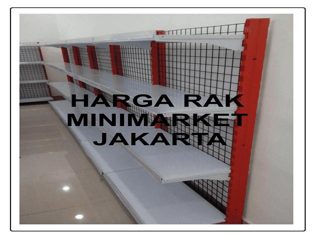 HARGA RAK MINIMARKET JAKARTA