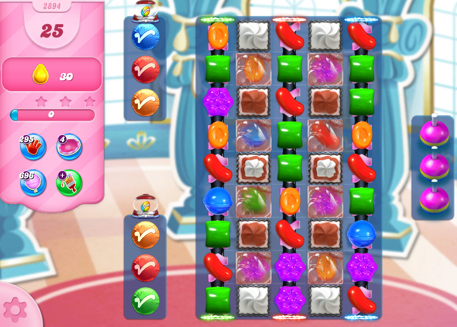 Candy Crush Saga level 2894