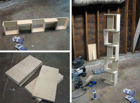 alejandra creatini 12 bookshelves design ideas. Black Bedroom Furniture Sets. Home Design Ideas