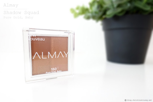 Almay Shadow Squad Eyeshadow 150 Pure Gold, Baby Review