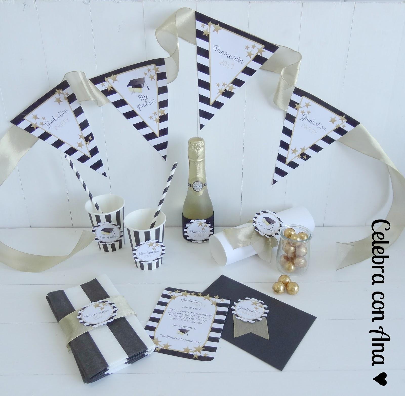 Celebra con Ana | Fiestas y Regalos personalizados: Kit de fiesta de ...