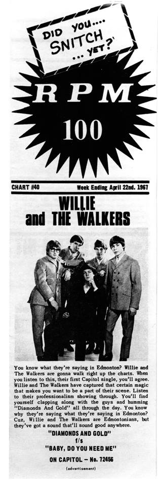 33d73a67a4b0 The Rise and Fall of Willie & The Walkers - It's Psychedelic Baby ...