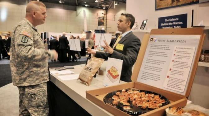 Pizza Khusus Militer, Kuat Sampai 3 Tahun