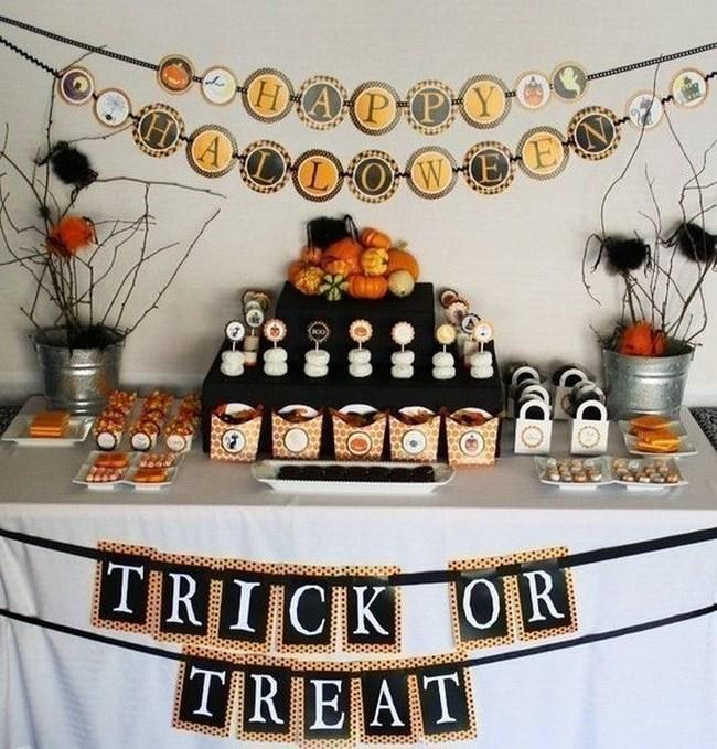 Cmo decorar una mesa para Halloween