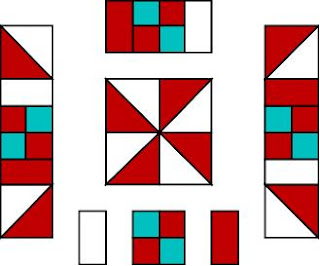 How to make a Pin Wheel Quilt Pattern Tutorial