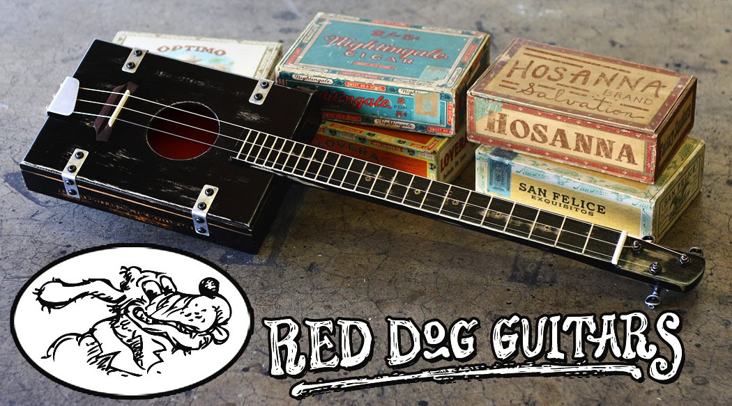 3 String Guitars and Cigar Box Guitars