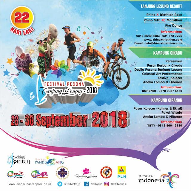 festival tanjung lesung 2018