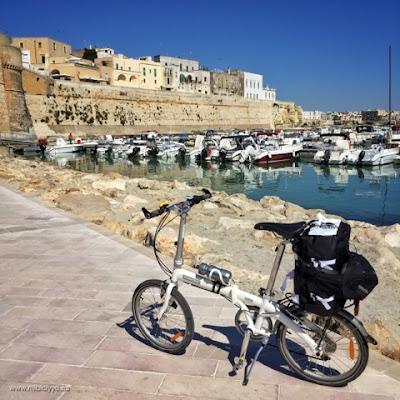 Bicicleta Dahon Murallas y Puerto de Otranto