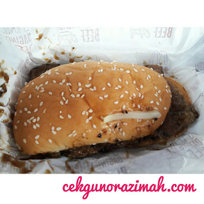 prosperity burger, mcdonald, cny 2018, musim cny, prosperity burger price, prosperity burger harga