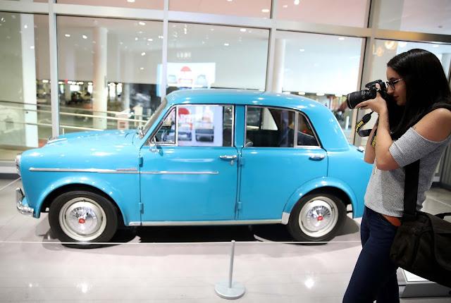 H Nissan στο Μουσείο Αυτοκινήτου του Petersen