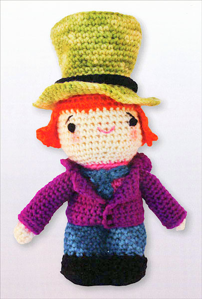 amigurumi alice in wonderland crochet patterns