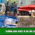Xưởng sản xuất ô dù Ấn Lộc