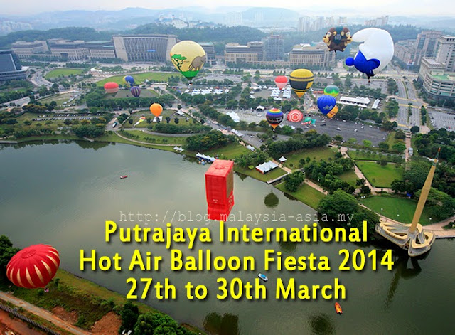 Hot Air Balloon Fiesta Putrajaya