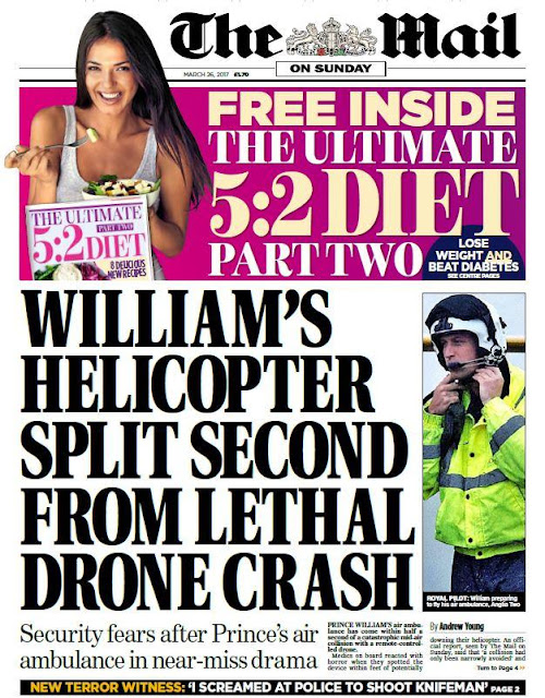 Prince William helicopter security fears ..