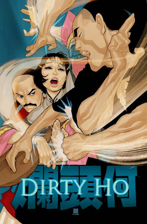 The New York Asian Film Festival Poster Art Show - Dirty Ho Movie Poster by Bernard Chang