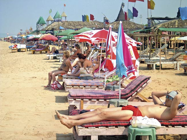 """Foreigners Only"" beaches in Goa"