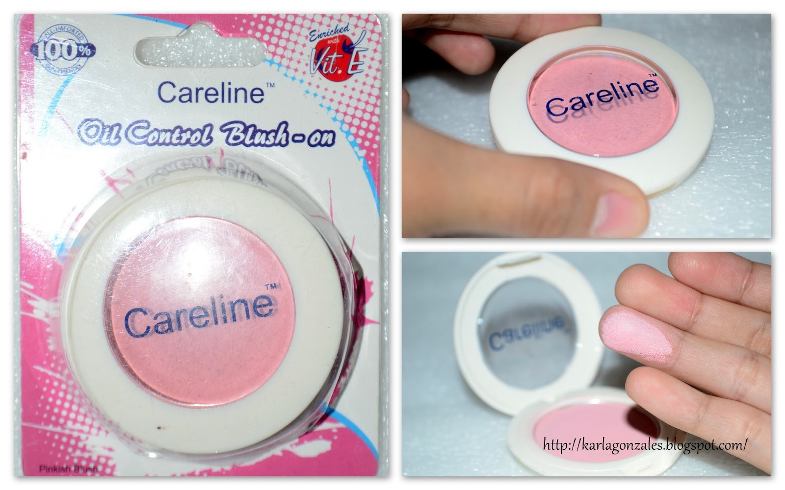 Karla Gonzales: Review on: Careline Oil Control Blush-on