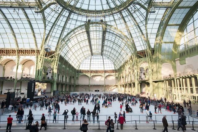 Patinação no gelo em Paris