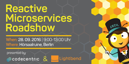 Join me for the Reactive Microservices Roadshow