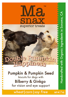 Ma Snax Double Pumpkin Happiness Biscuits and Sweet Potato Ginger Snaps