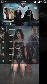 Download BBM MOD Suprman VS Batman V2.13.0.22 Terbaru