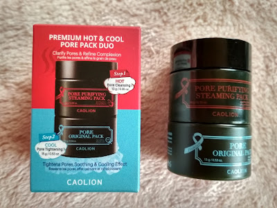 Recenzja - Caolin premium hot&cool pore pack duo