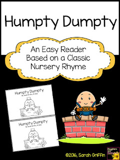 https://www.teacherspayteachers.com/Product/Sight-Word-Reader-Humpty-Dumpty-BW-2440587