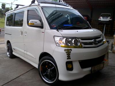 Daihatsu Luxio Modifikasi Dijual