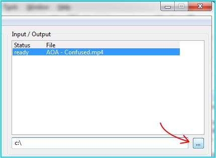 encode bencos output directory
