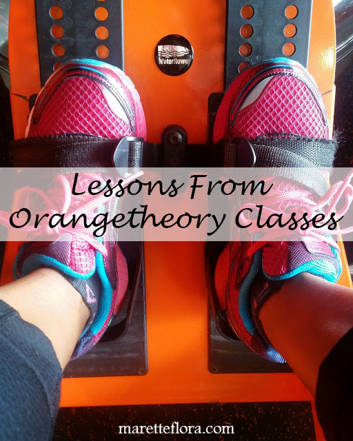 Lessons From Orangetheory Classes