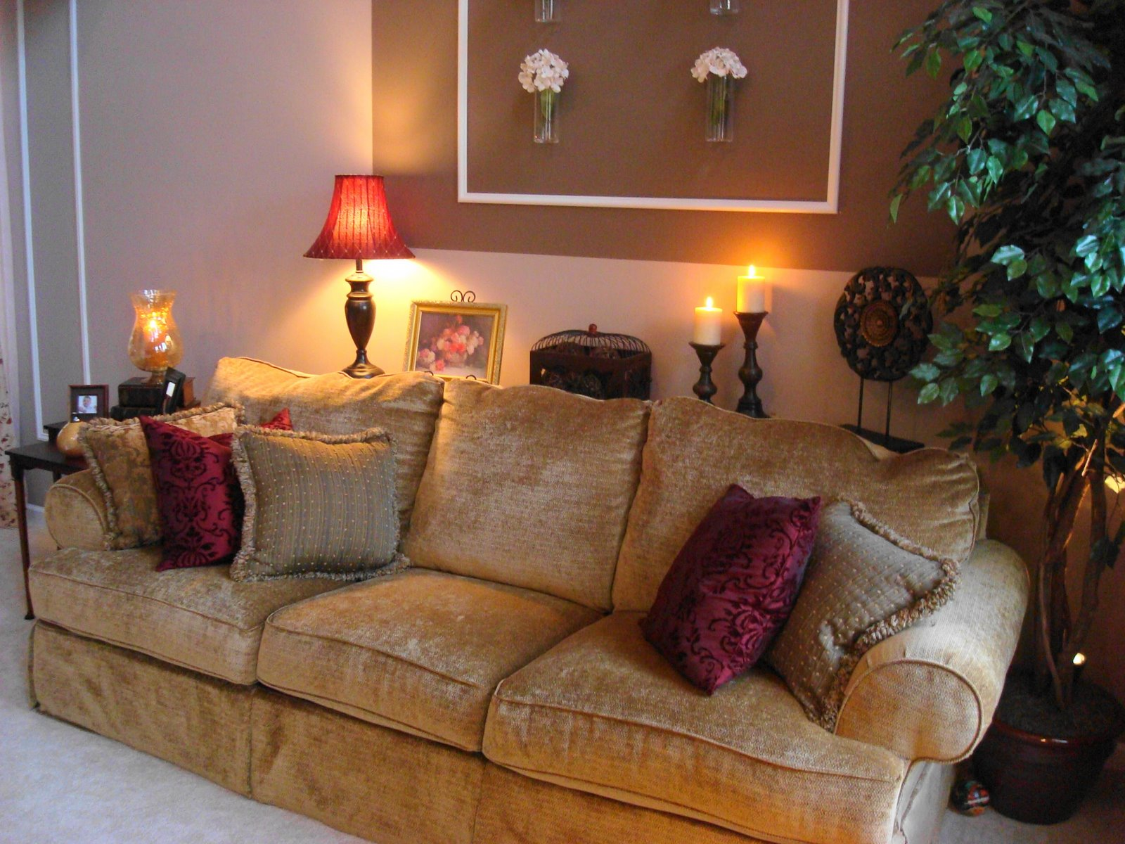 From Dark To Light: The Living Room Over The Years! From