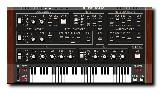 44 S GTG Synths - Vintage Synthesizers
